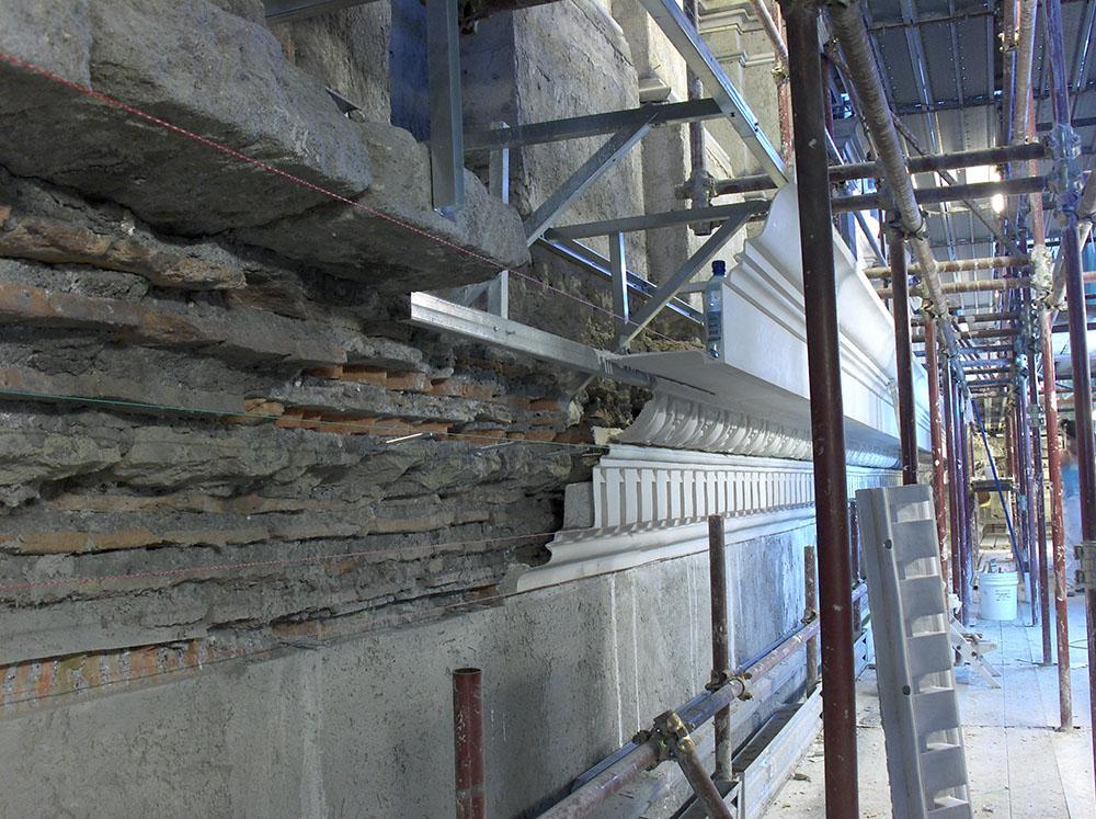 06b avanzamento nel processo ricostruttivo delle cornici