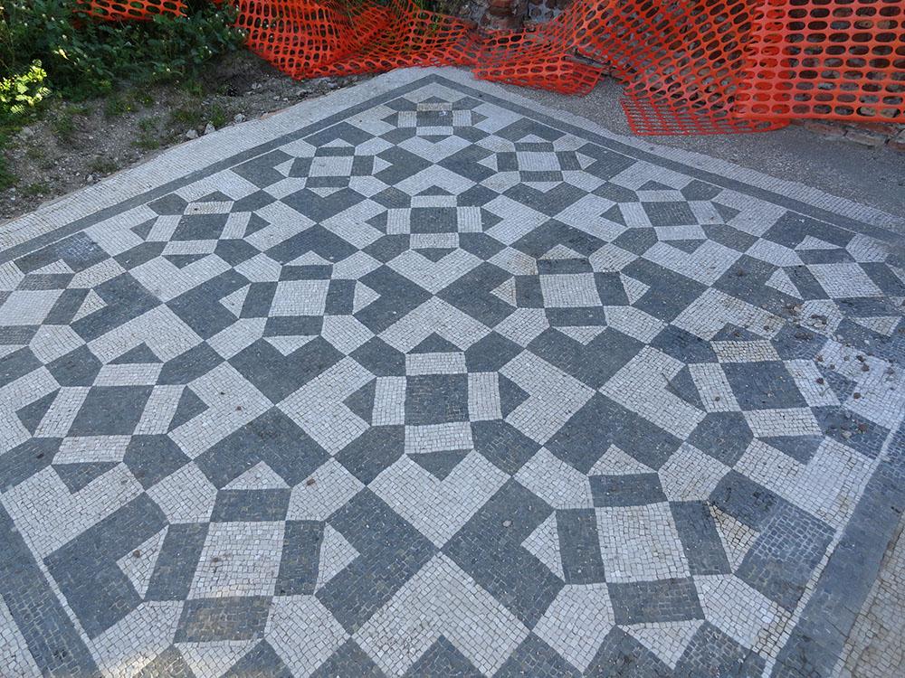 07d la pavimentazione dopo gli interventi di restauro