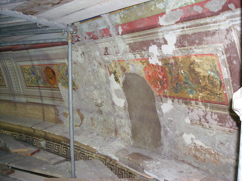 08 le operazioni di restauro nella Cavea