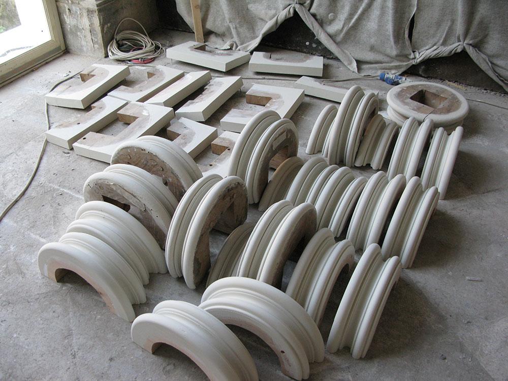 12l preparazione dei tori e dadi delle colonne