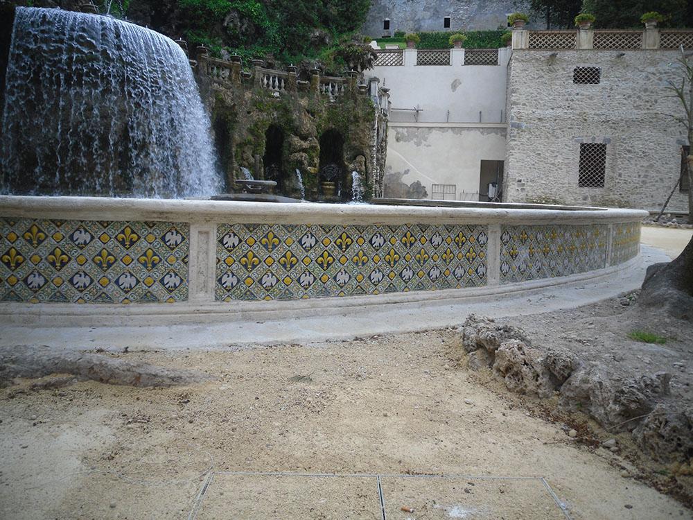 17ulteriore veduta della fontana dopo i lavori di restauro