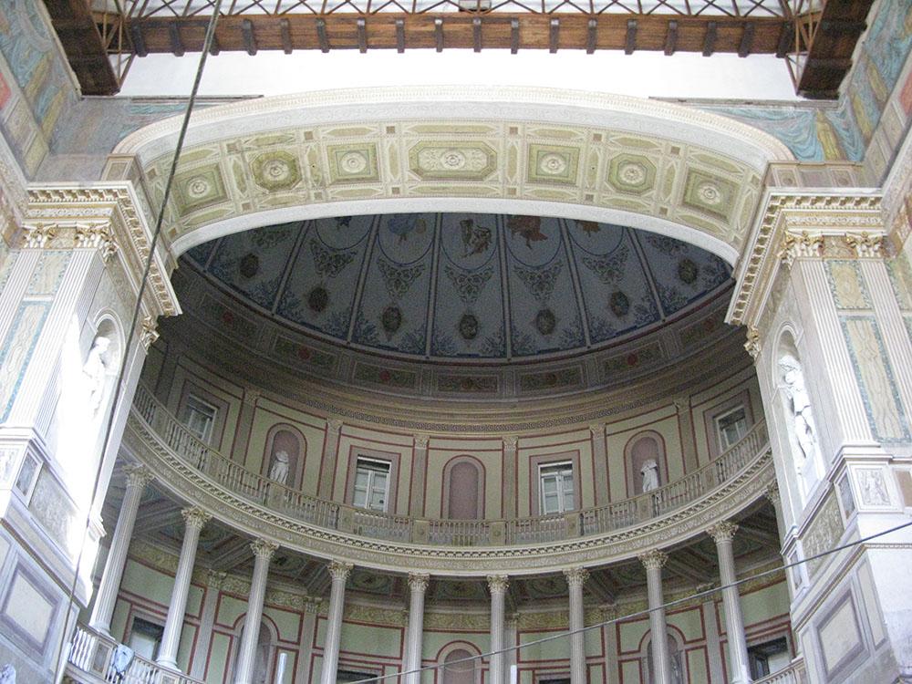 18 arcoscenio del Teatro al termine dei lavori