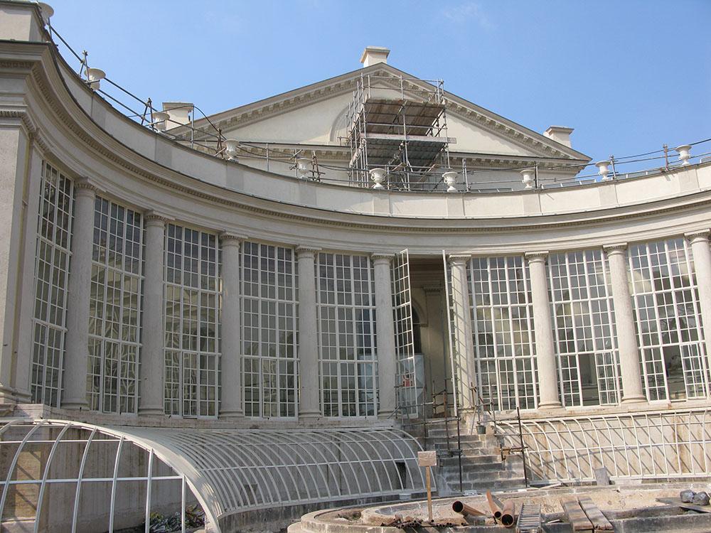 20 le ultime fasi degli interventi di restauro