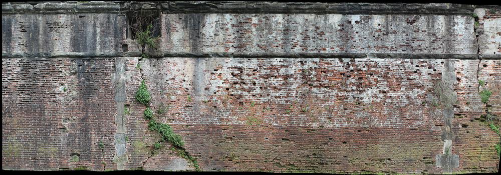 2014_Pisa  Ortofoto di una porzione del Bastione