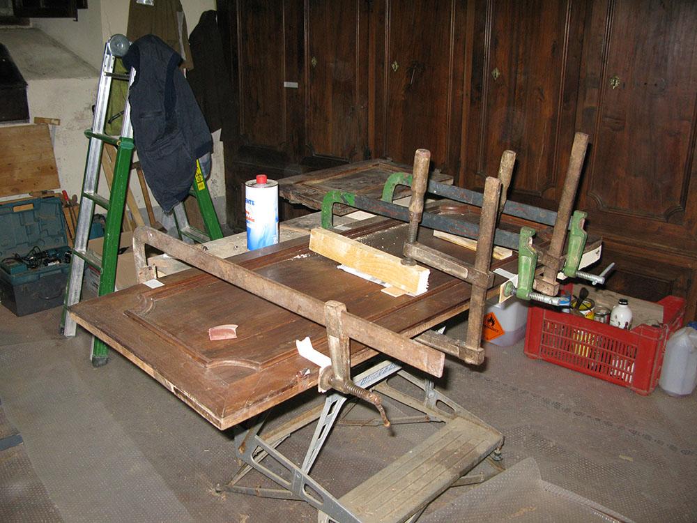 22 risanamenti del legno