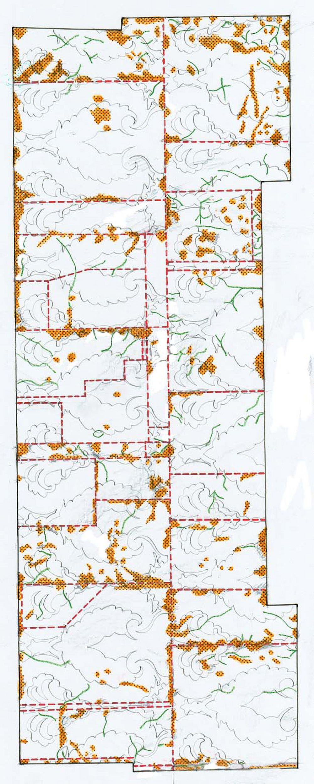 05 Mappatura tematica dello stato conservativo del pannello